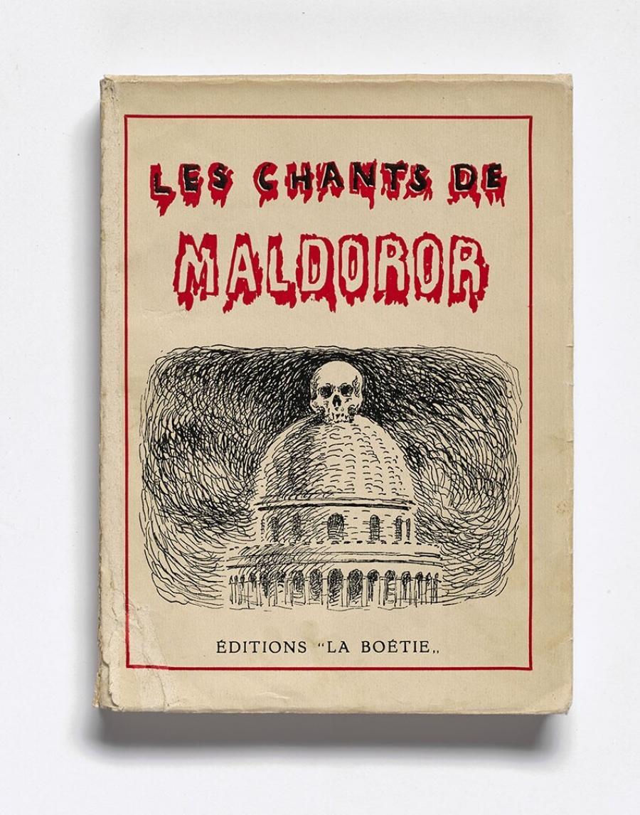 Les chants de Maldoror : illustrations de René Magritte