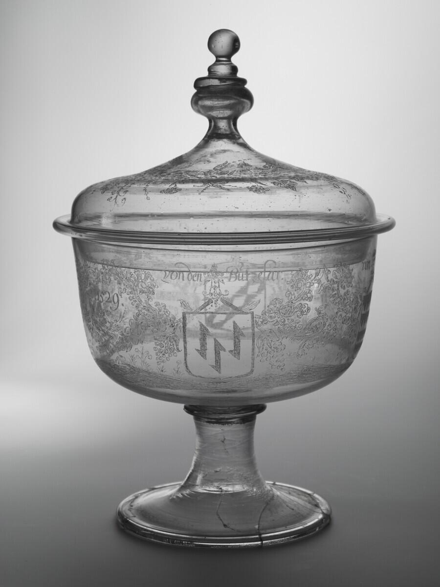 lidded goblet