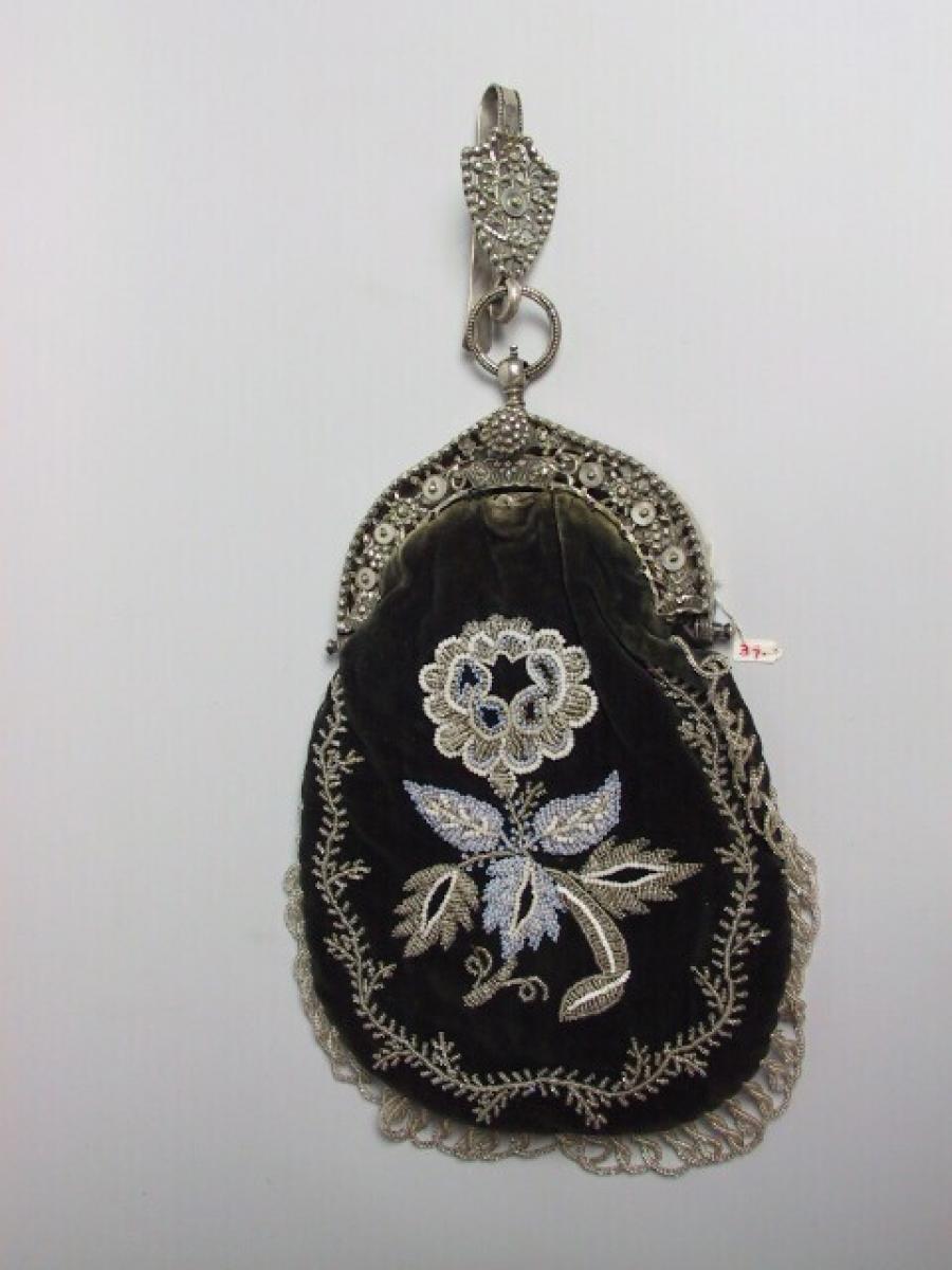 clasped purse