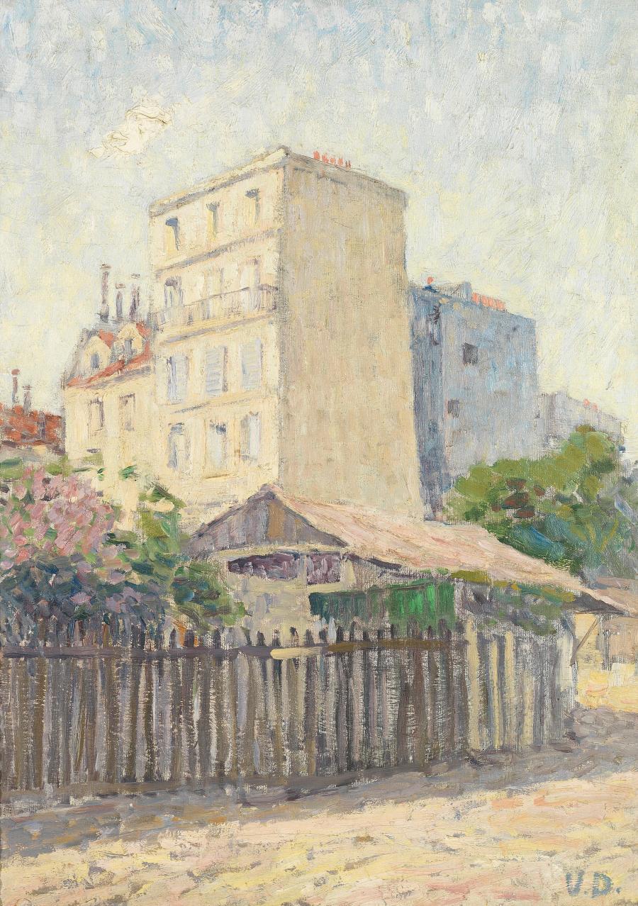 Houses in Montmartre