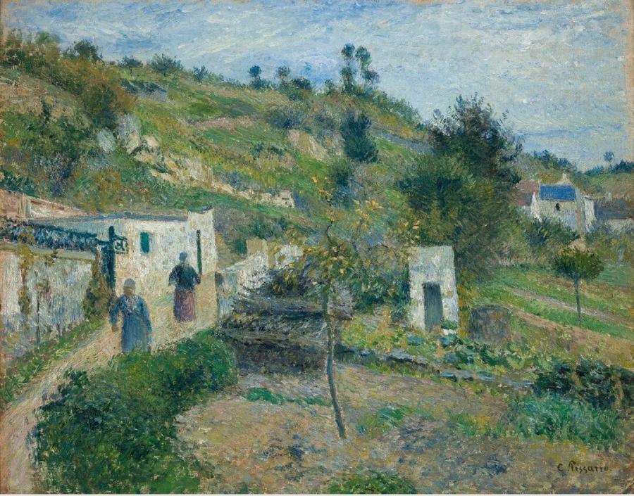 Les Coteaux d'Auvers (De heuvels van Auvers)