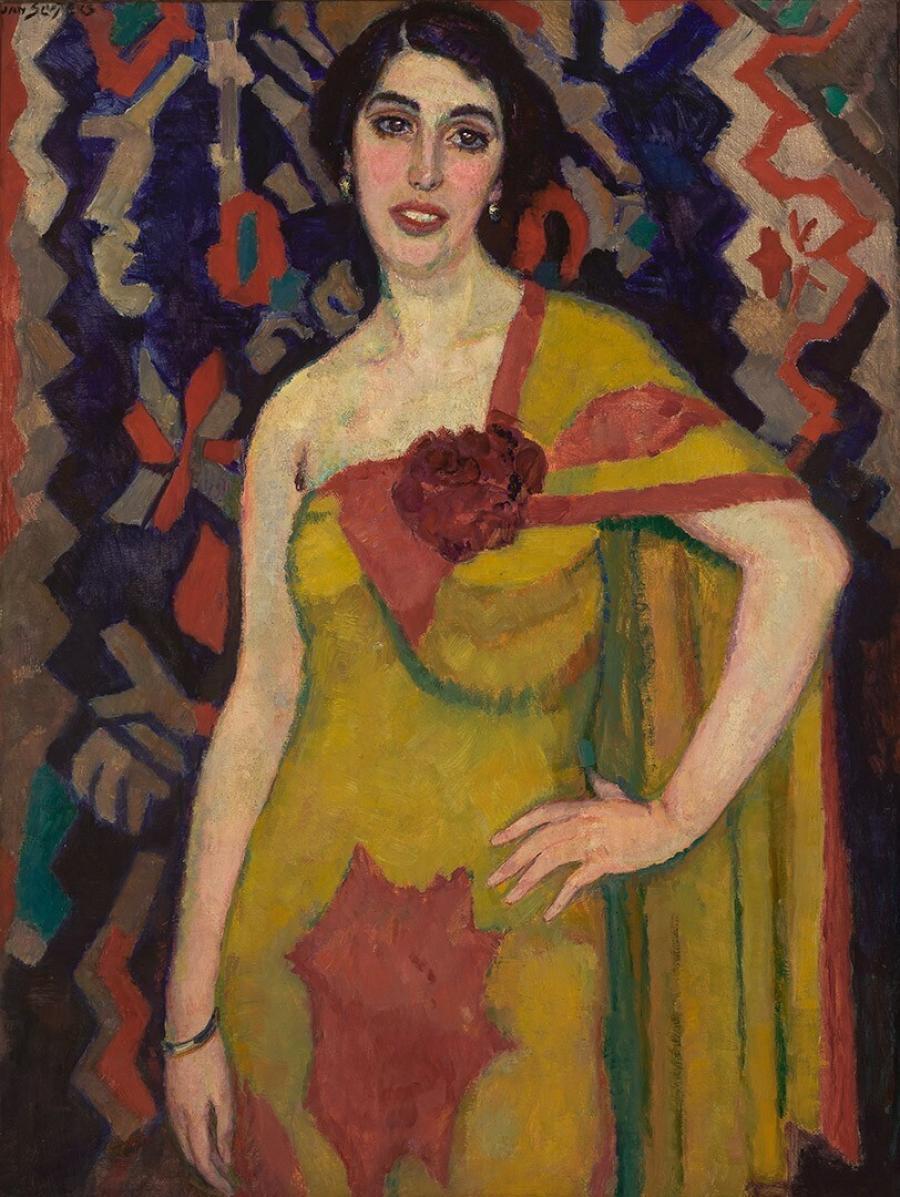 Vrouwenportret (Danseres)