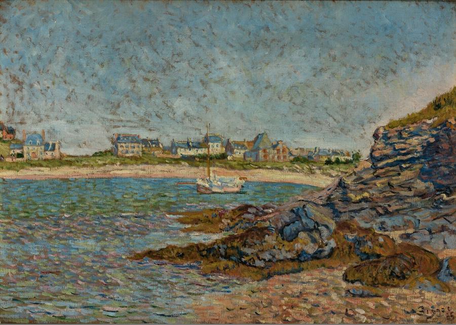Vue de Port, Saint Briac