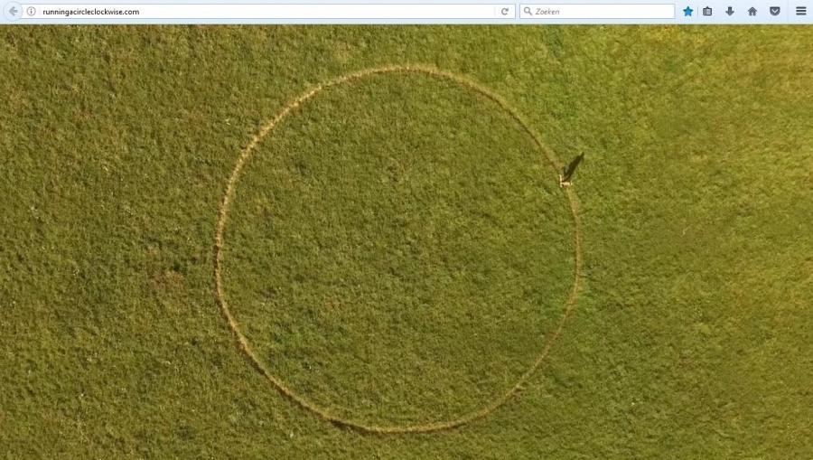 Running A Circle Clockwise (Een cirkel met de klok mee draaien)