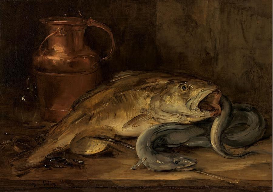 Still Life with Fish and a Copper Jug