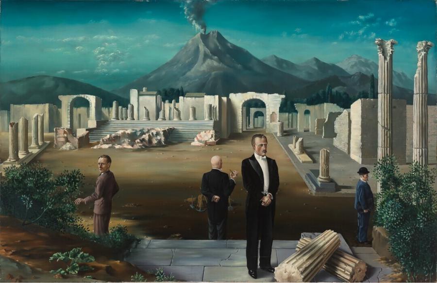 Late bezoekers van Pompeï