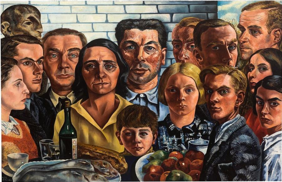 De maaltijd der vrienden