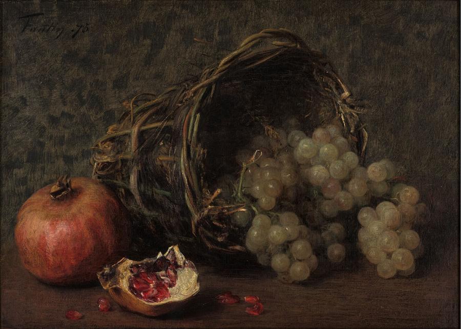 Druiven en granaatappels
