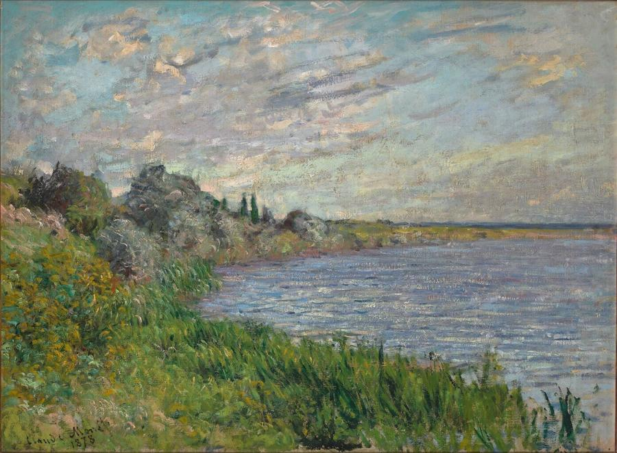 La Seine près de Vétheuil  (De Seine bij Vétheuil )