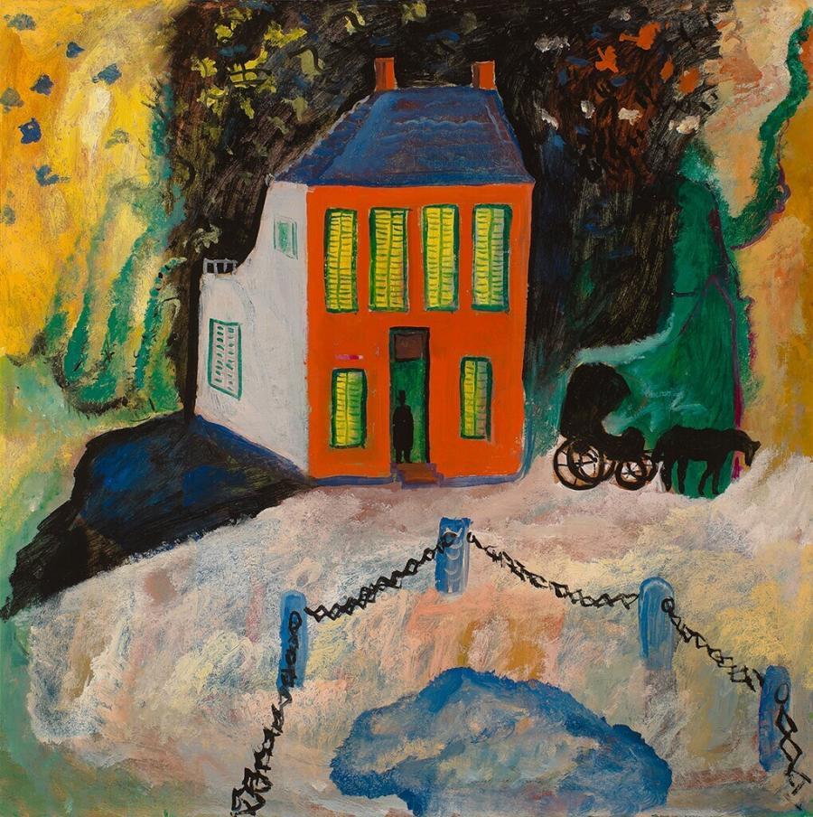 The doctor's visit (Kafka's house)