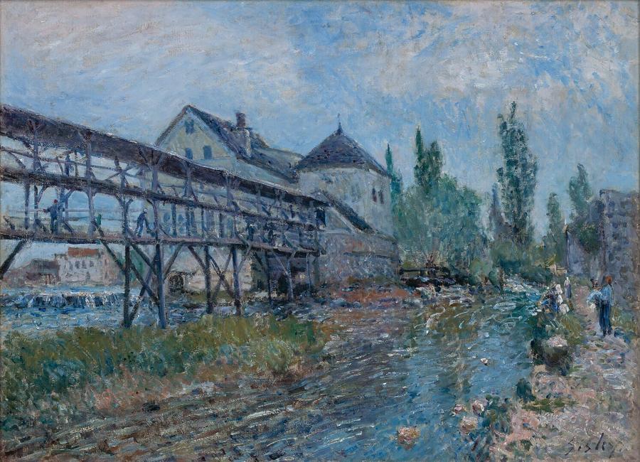 Le moulin à eau Provencher à Moret (De watermolen Provencher te Moret)