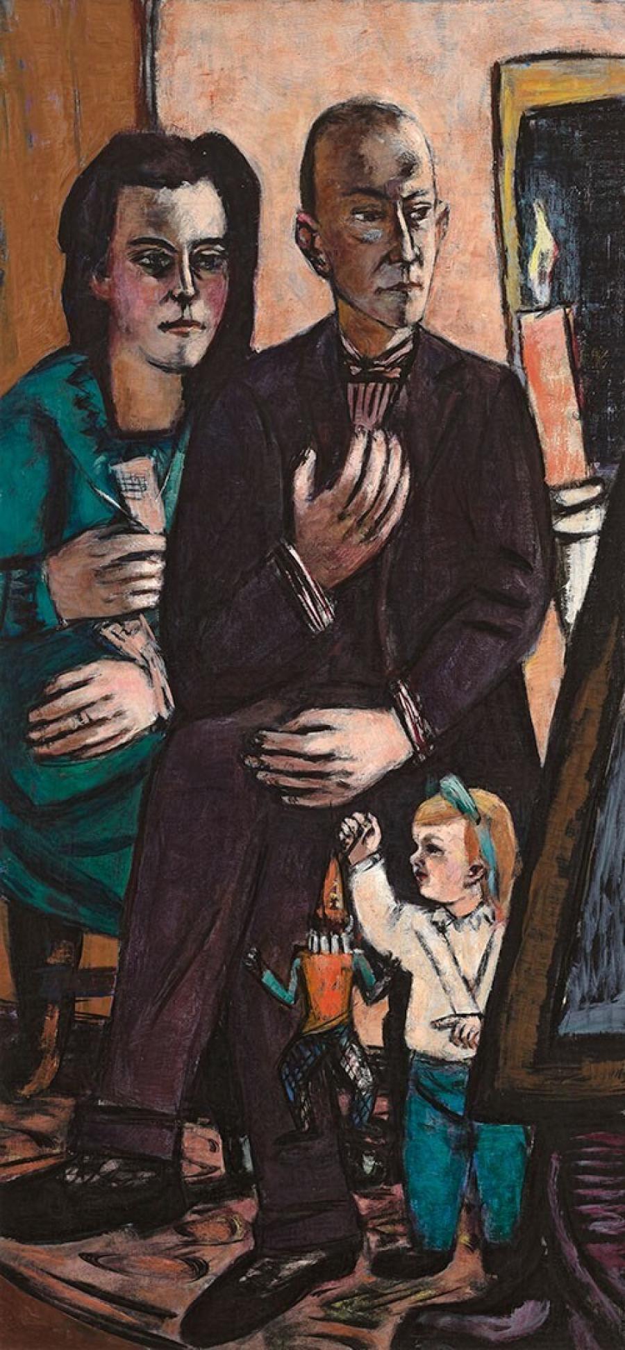 Portret van de familie Lütjens