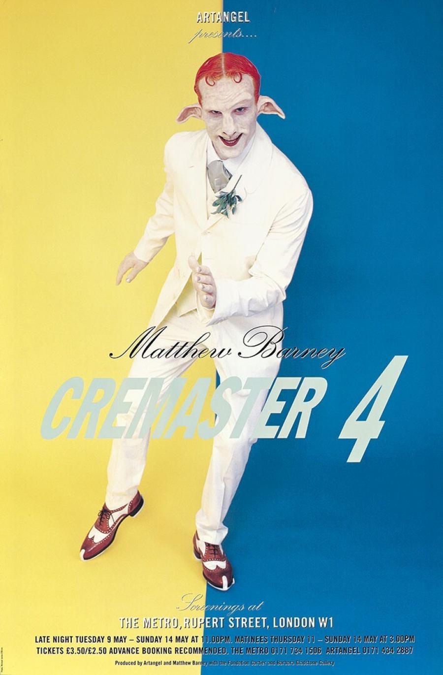 Poster Cremaster 4