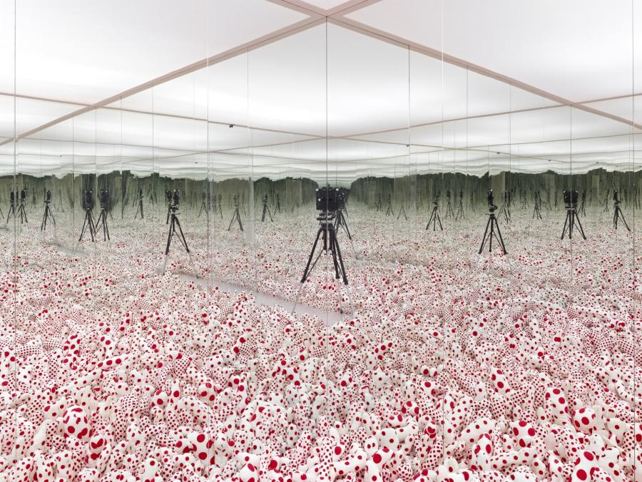 Infinity Mirror Room - Phalli's Field (Floor Show)