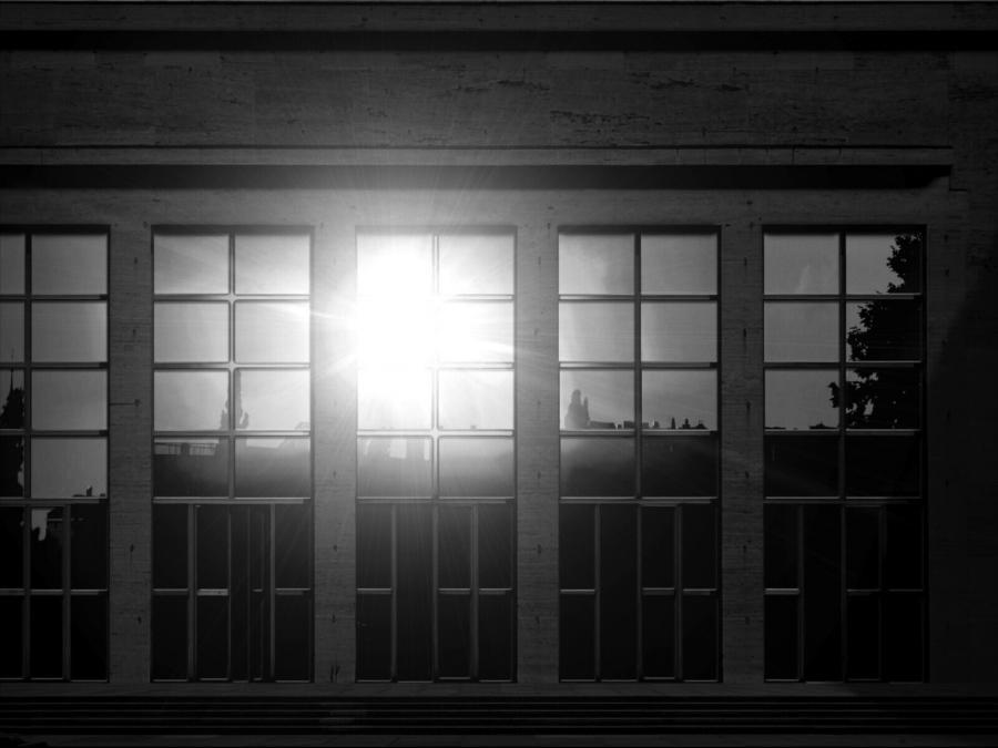 Reflecting Sunset (Weerspiegelende zonsondergang)