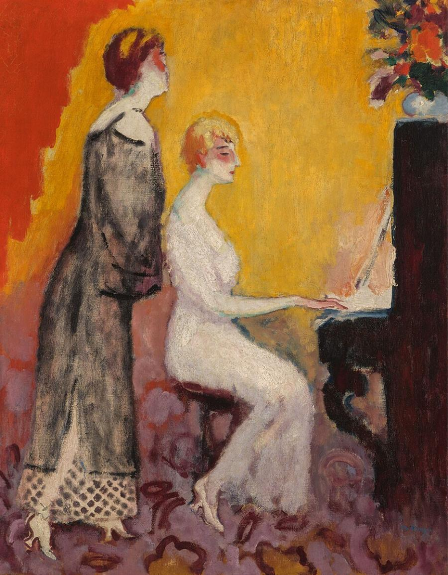 Two Women at a Piano
