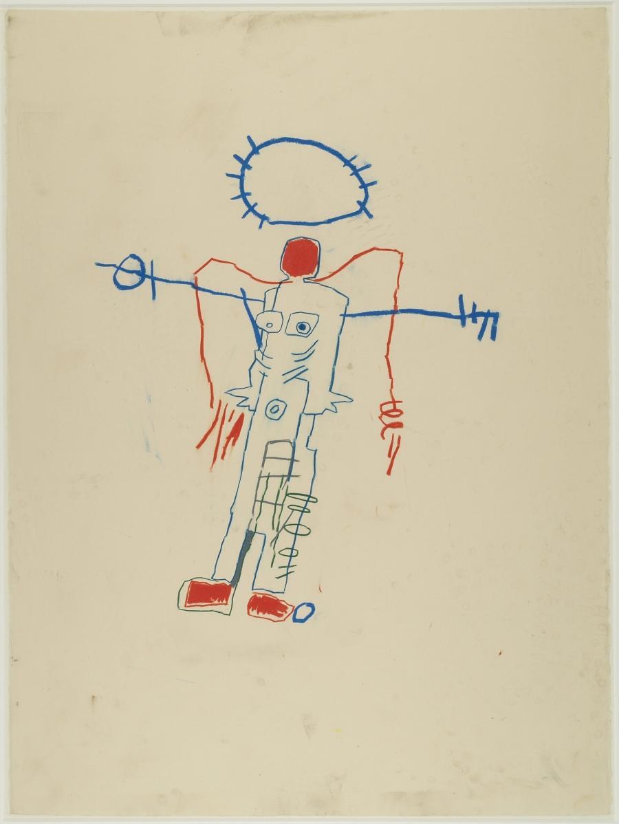 Untitled (Man with Halo) (Zonder titel (Man met aureool))