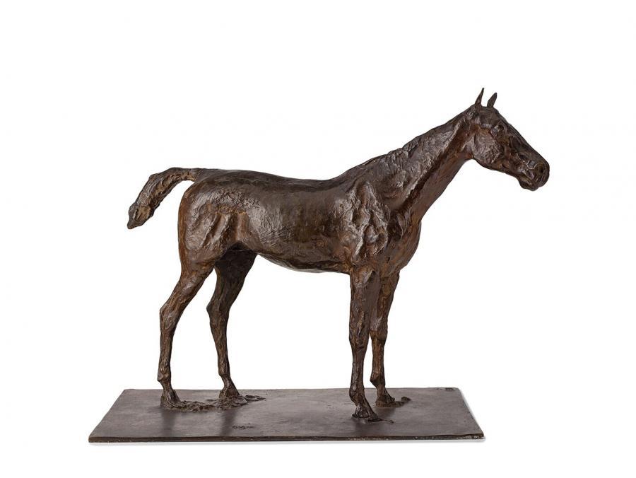 Stilstaand paard