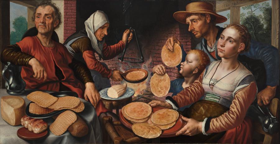 De pannenkoekenbakkerij