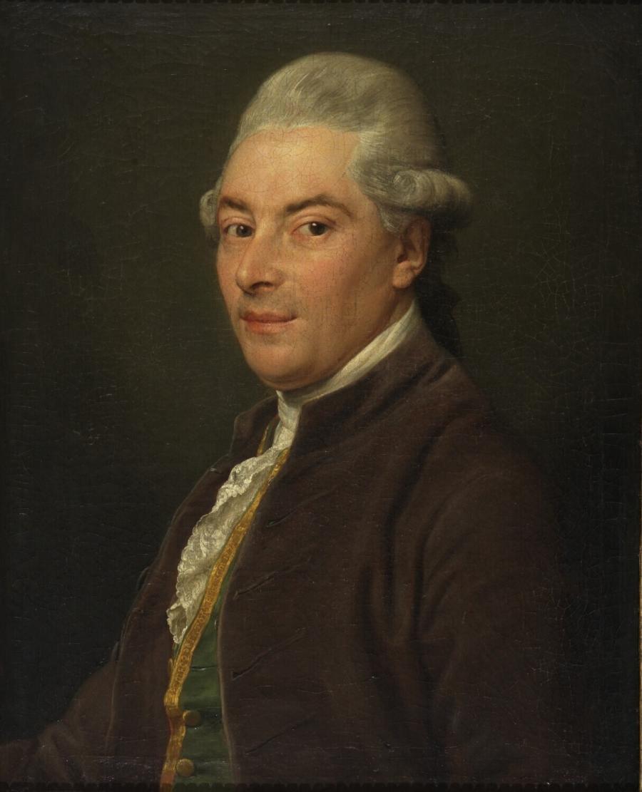 Portret van de Rotterdamse tabakshandelaar Pieter Caarten