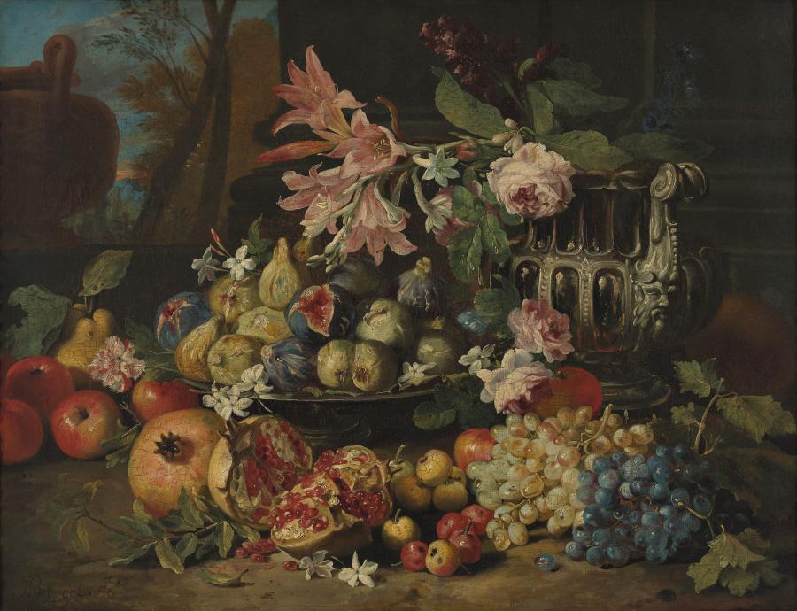 Vruchten en bloemen