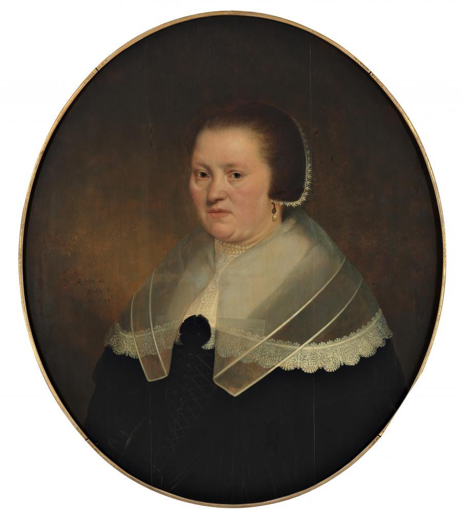 Portret van een 40-jarige vrouw