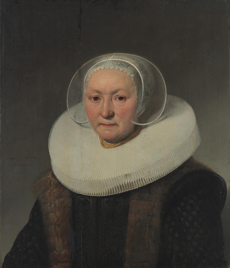 Portret van Cornelia van Wesel