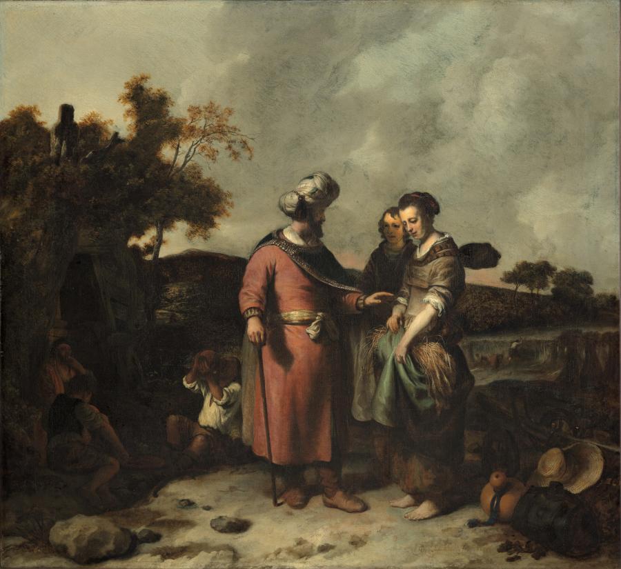 Boaz en Ruth