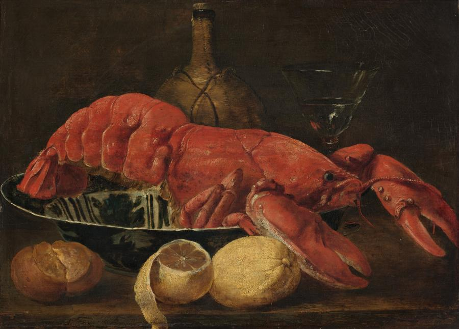 A Lobster in a Porcelain Dish