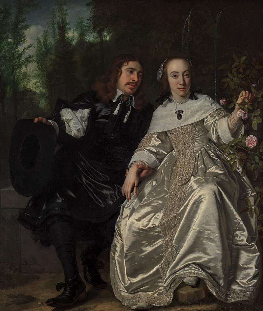 Abraham del Court and His Wife Maria de Kaersgieter