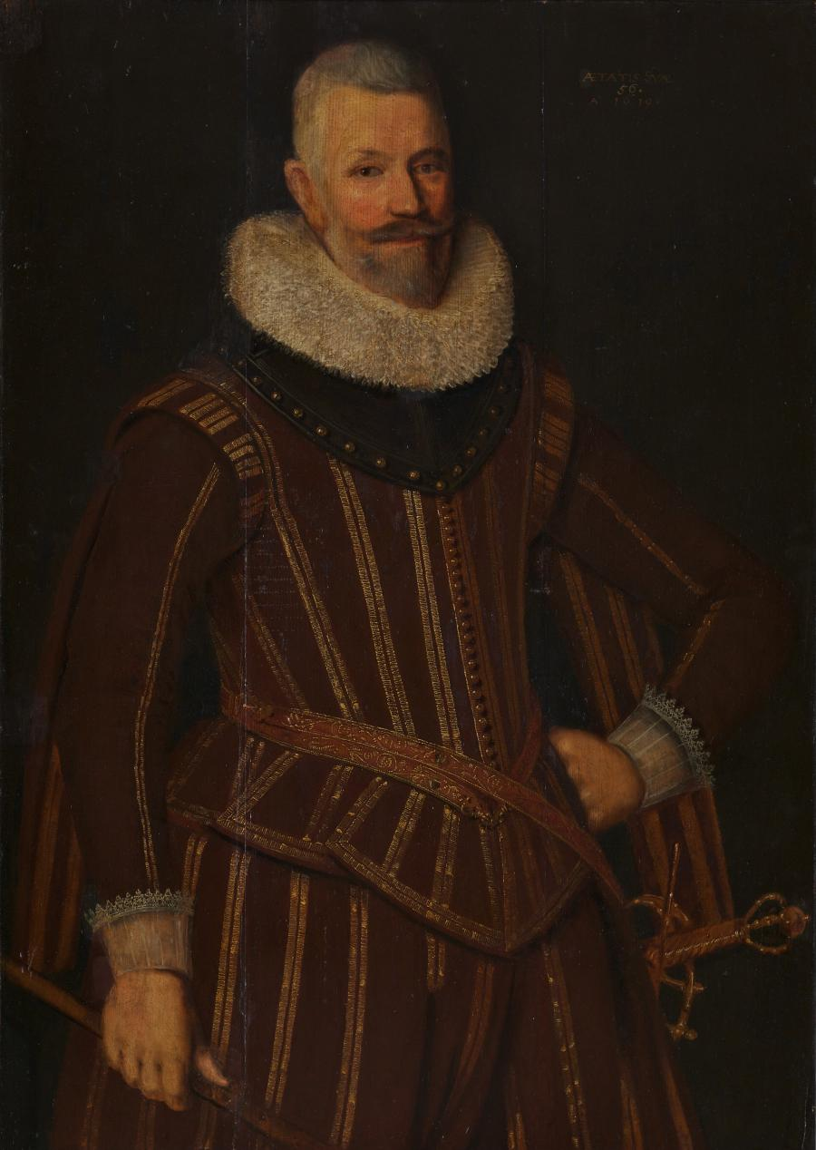 Portret van Philips de Caron