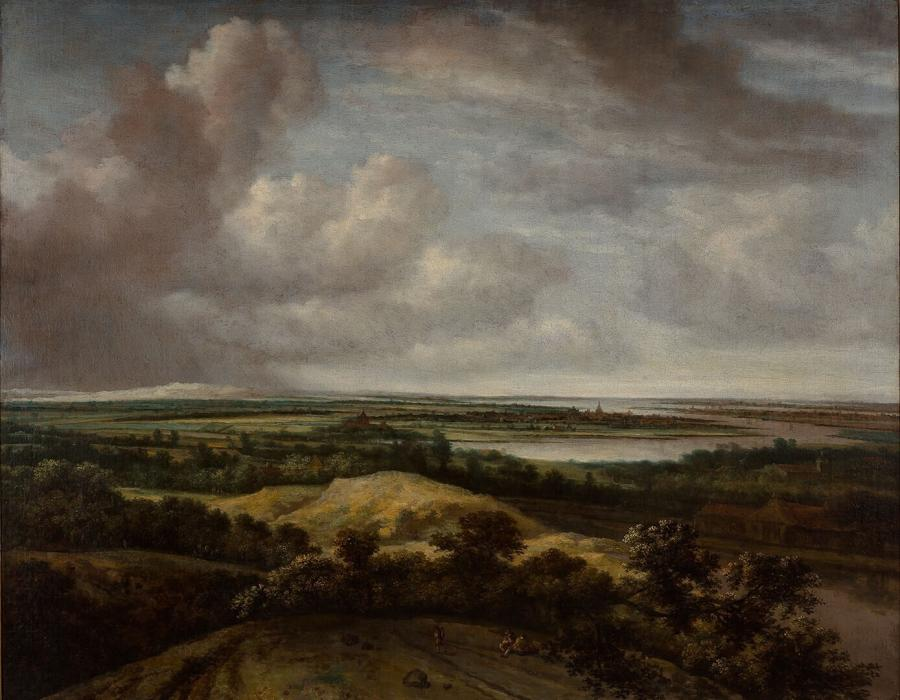 An Extensive Landscape, with a River