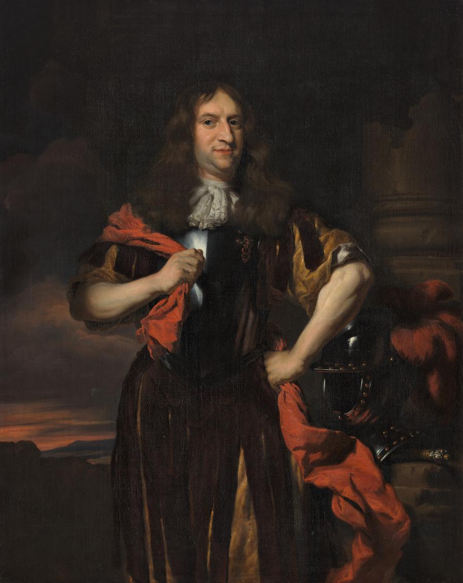 Portret van Maerten Nieupoort