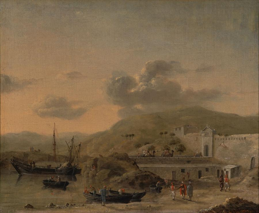 A Moorish Citadel on the North Coast of Africa