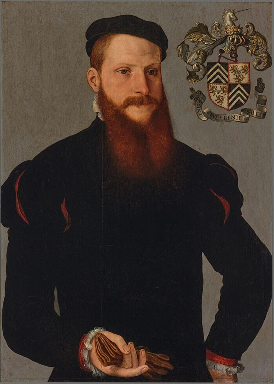 Portret van Joris (?) van den Heede