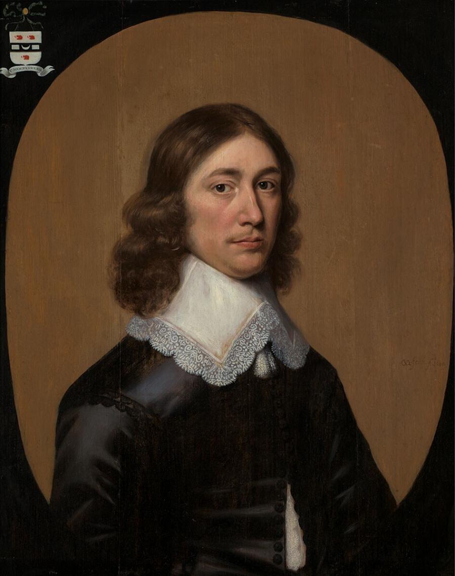 Portret van Hartogh Moerkerken