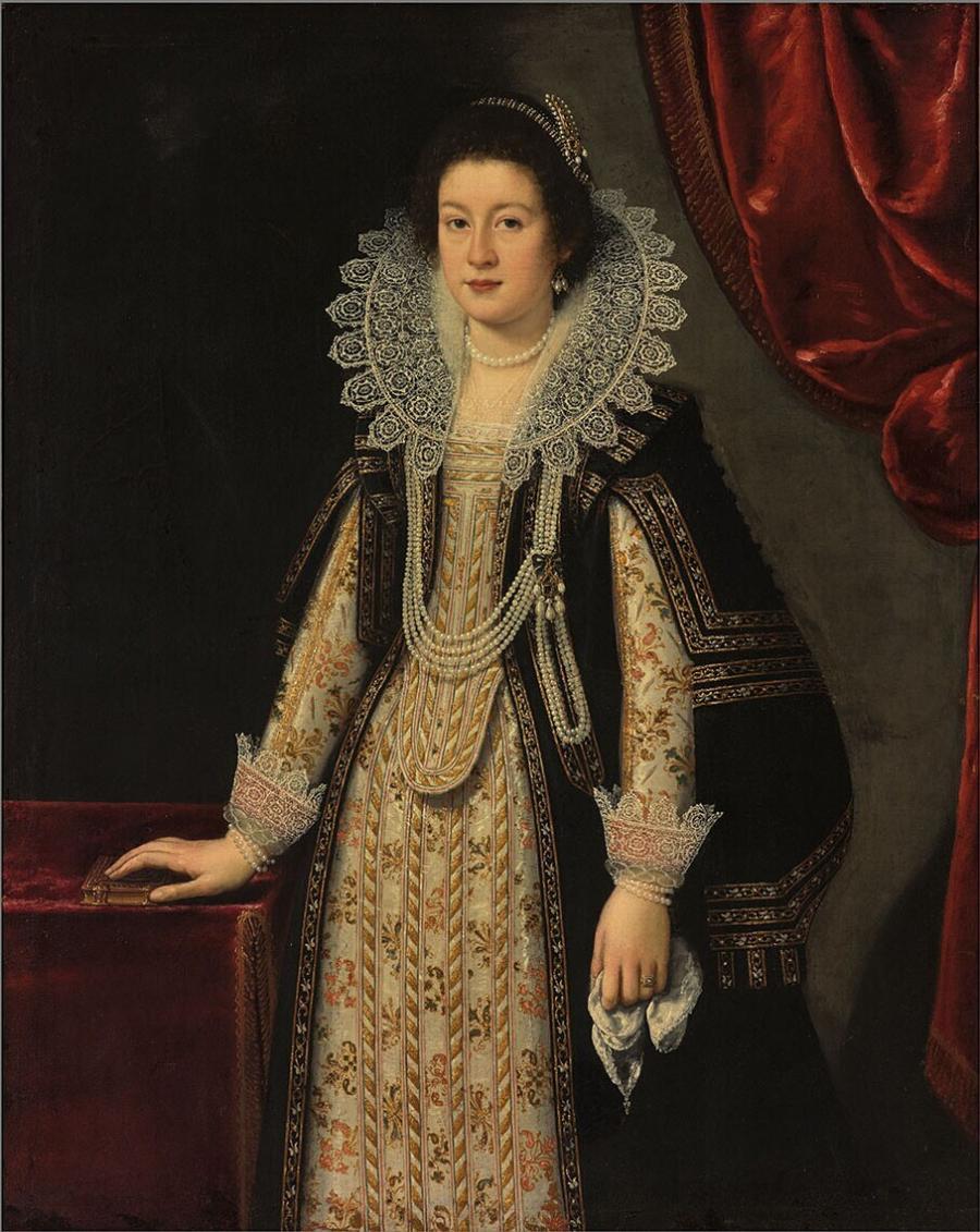 Portrait of Archduchess Maria Magdalena of Austria