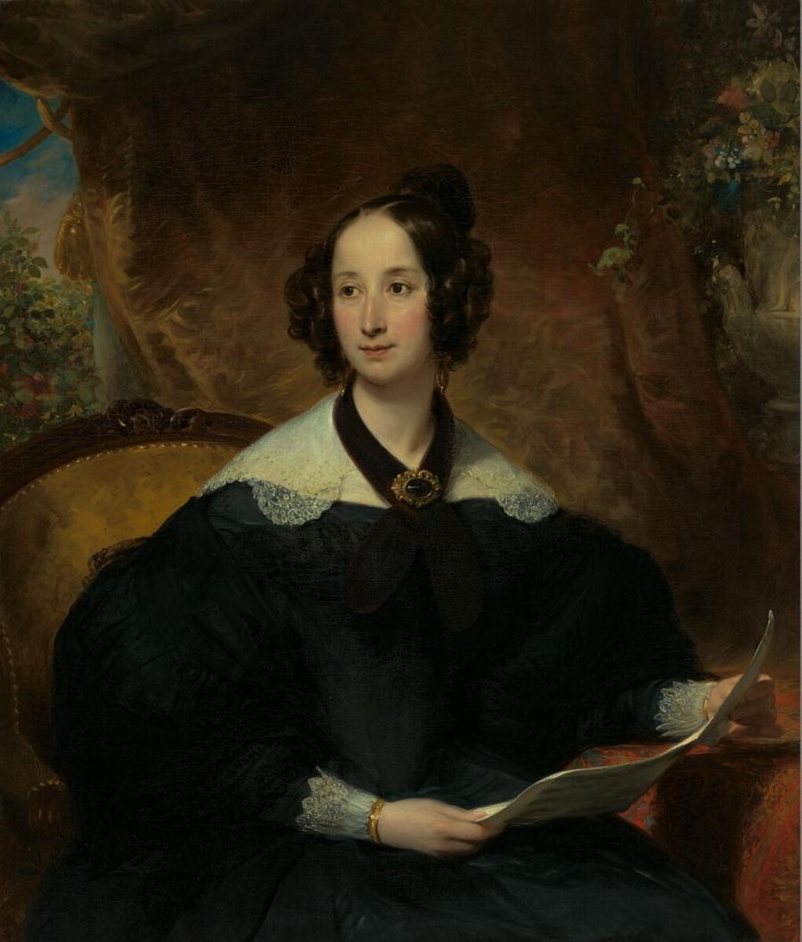 Portret van Elizabeth Margaretha Craeyvanger-Swillens
