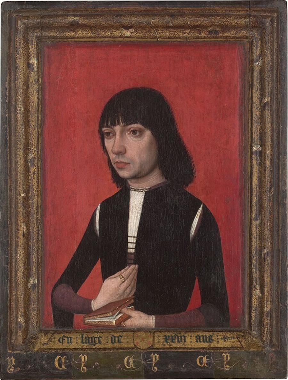 Portret van een jonge man uit het geslacht Fonseca