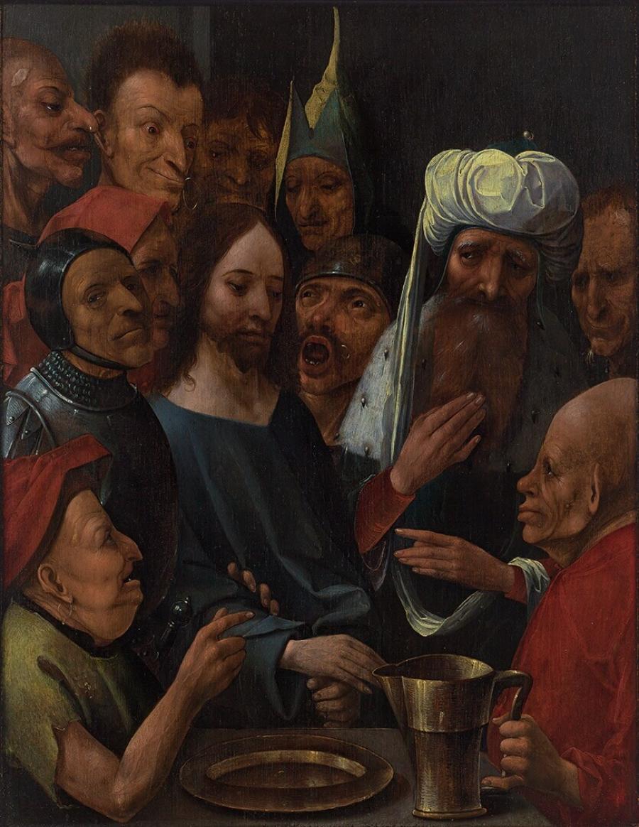 Christus wordt voor Pilatus gebracht