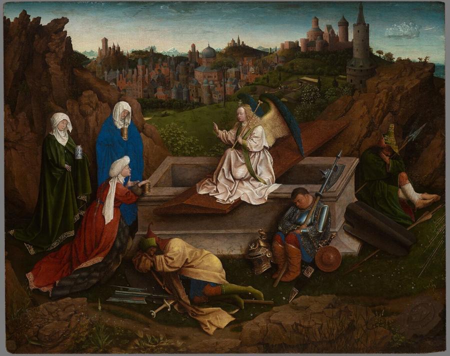 De drie Maria's aan het graf