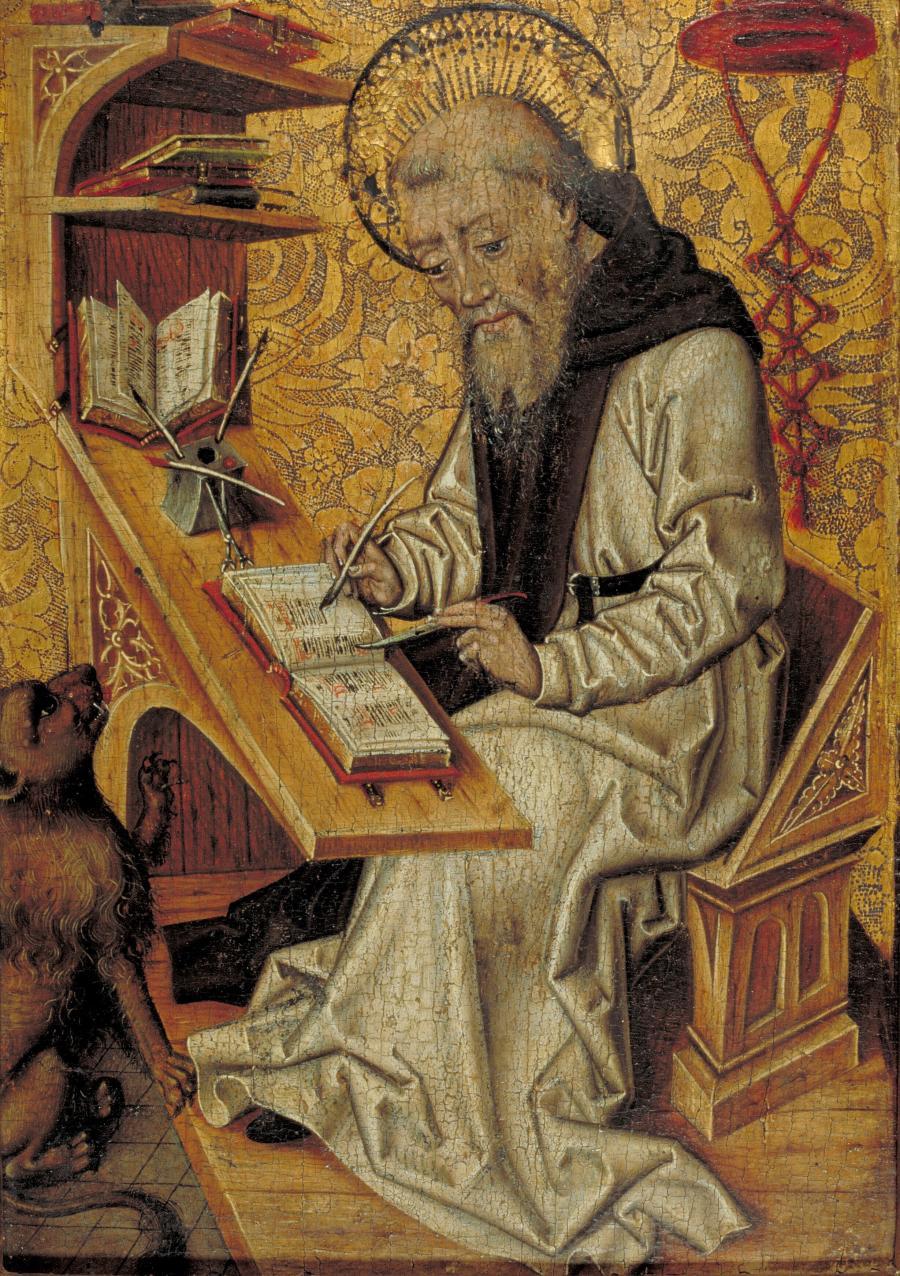 De Heilige Hieronymus in zijn studeercel