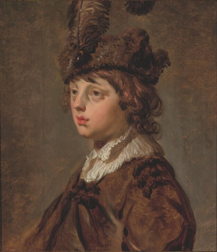 Boy with a beret