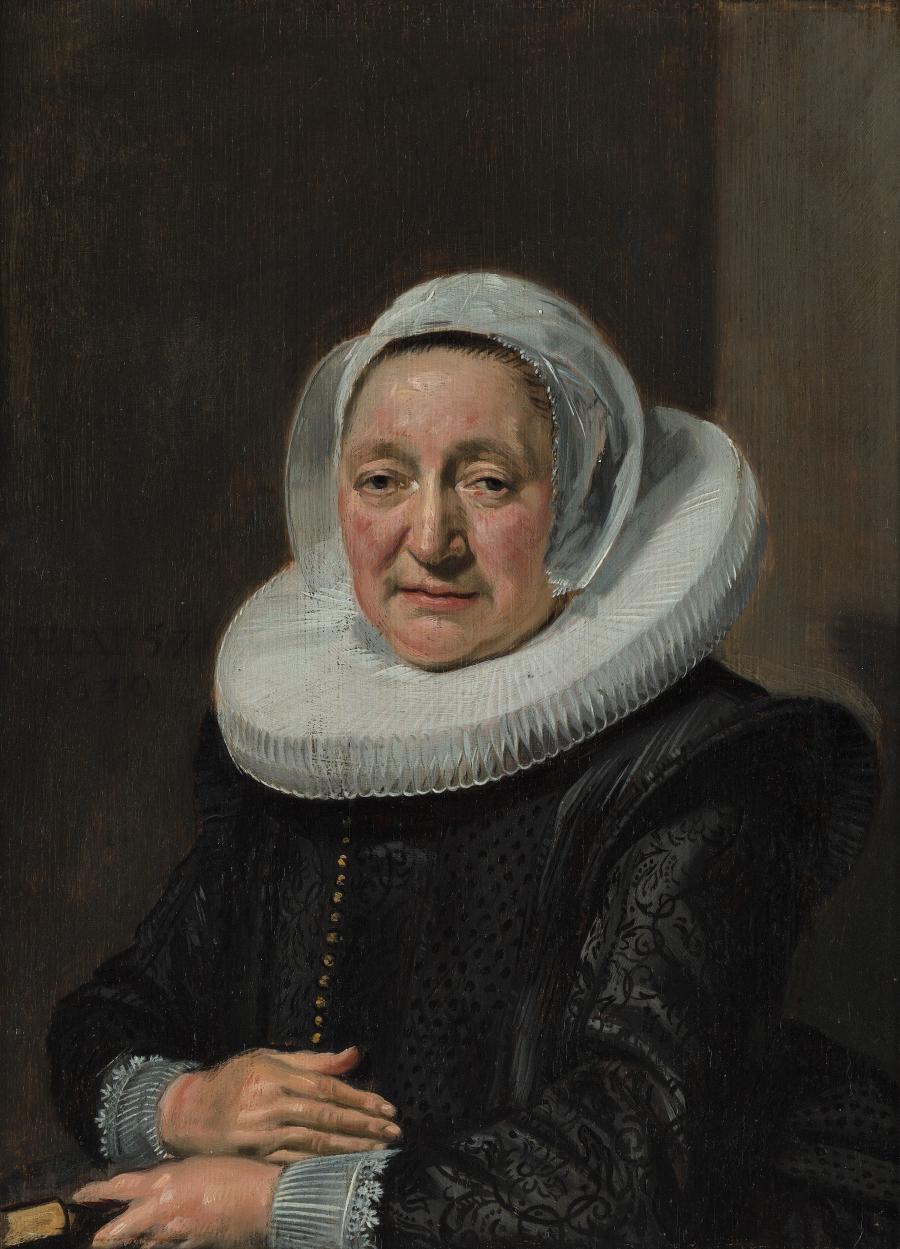 Portret van een 57-jarige vrouw