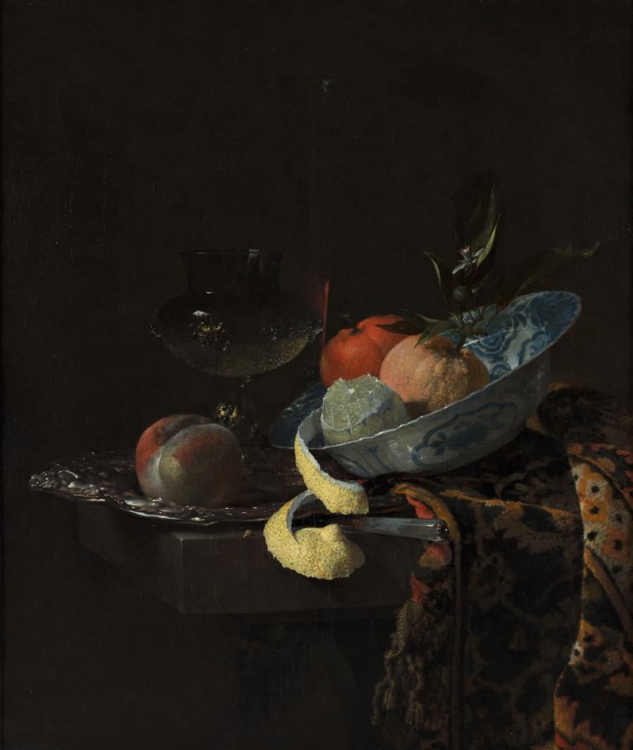 Still Life with a Ming Bowl