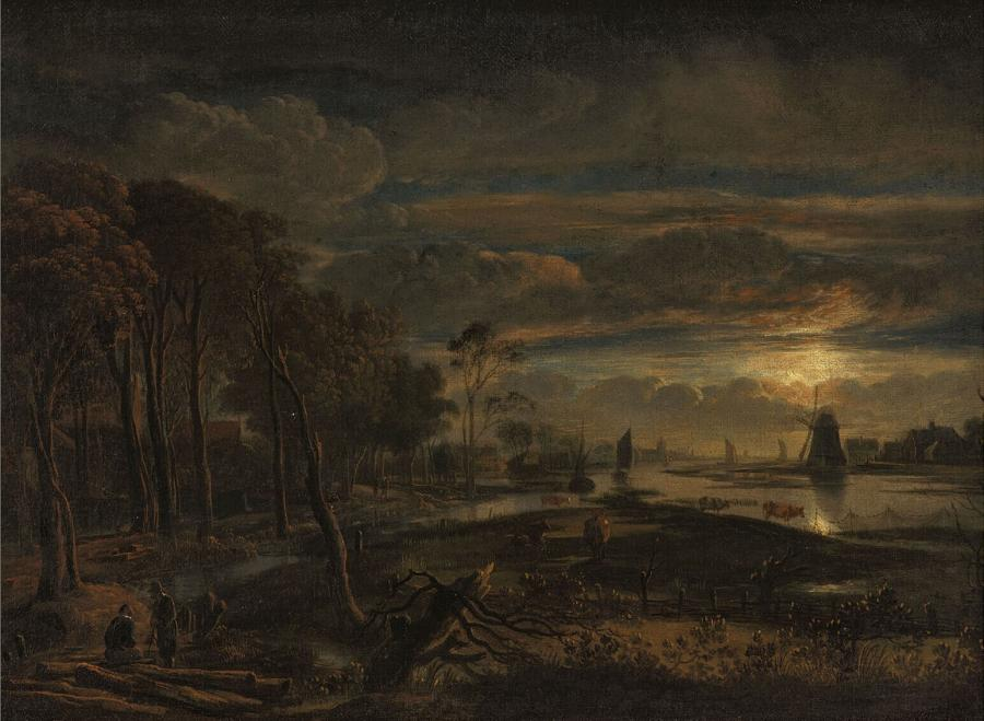 Landscape in Moonlight