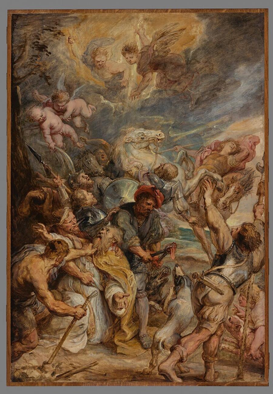 De marteling van de heilige Livinus