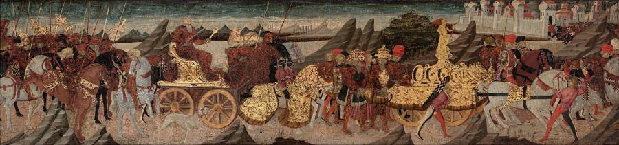 The triumph of Scipio Africanus
