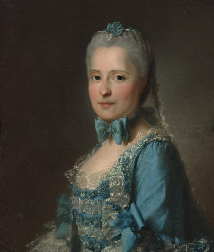 Portret van Maria Josepha van Saksen, dauphine van Frankrijk
