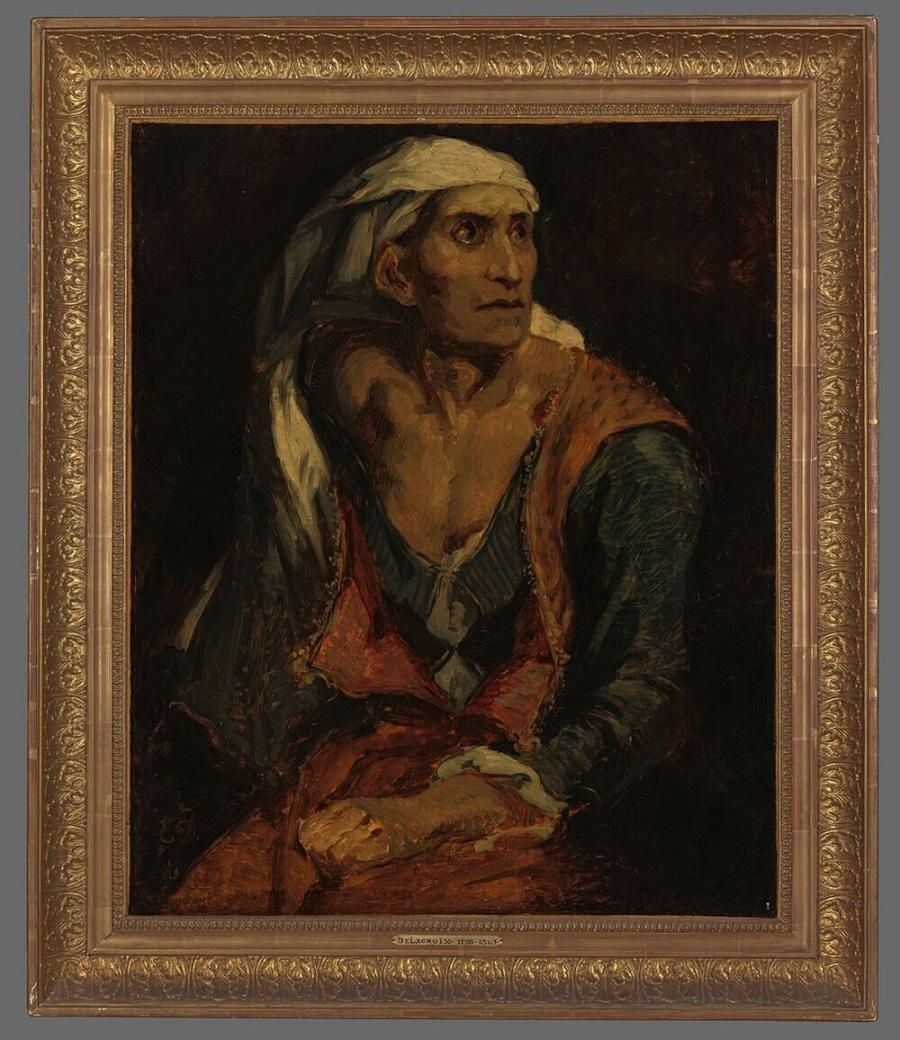 Old Seated Woman